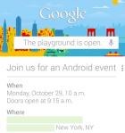 Un évènement Google aura lieu le 29 octobre en faveur d'Android