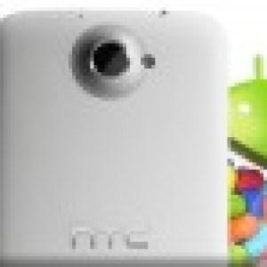 HTC One X, la mise à jour de Jelly Bean arrive en Europe