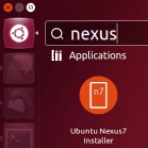 Installer Ubuntu sur Google Nexus 7, le cadeau de Canonical