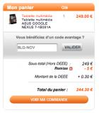 La Nexus 7 en version 32 Go déjà en stock à partir de 244 euros