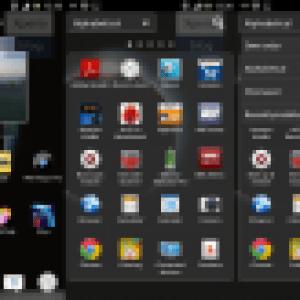Le launcher du Sony Xperia Z (Yuga) déjà disponible !