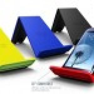 CES 2013 : TYLT Vu un support téléphone intégrant un chargeur Qi