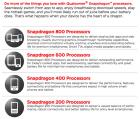 CES 2013 : Qualcomm annonce ses nouveaux processeurs Snapdragon 800 et 600