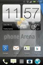 Une capture d'écran du HTC G2 confirme la simplification de l'interface de HTC Sense