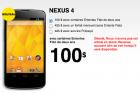 Au Canada, Fido lance le Nexus 4 à partir de $100