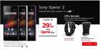 Sony Xperia Z : les pré-commandes ont commencé chez SFR