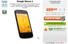 Le Nexus 4 est disponible chez GrosBill… à 499€