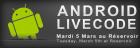 Assistez au LiveCode Android et développez un jeu en une heure