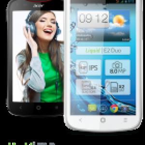 Acer Liquid E2 Duo, déjà un successeur pour le Liquid E1 ?
