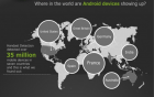 Infographie : la popularité des terminaux mobiles Android à travers le monde