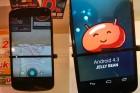 Est-ce Android 4.3 sur un Nexus 4 ?
