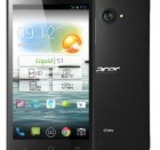 Acer Liquid S1, un milieu de gamme de 5,7 pouces sur Android stock