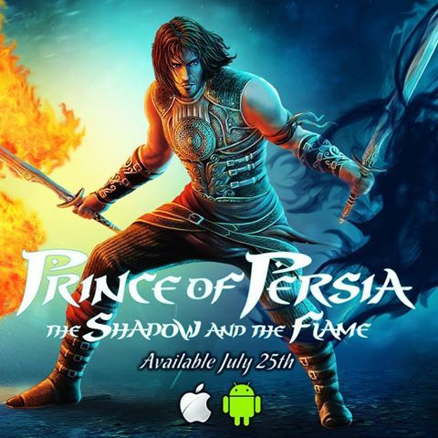 Prince of Persia the Shadow and the Flame disponible sur Mobiles