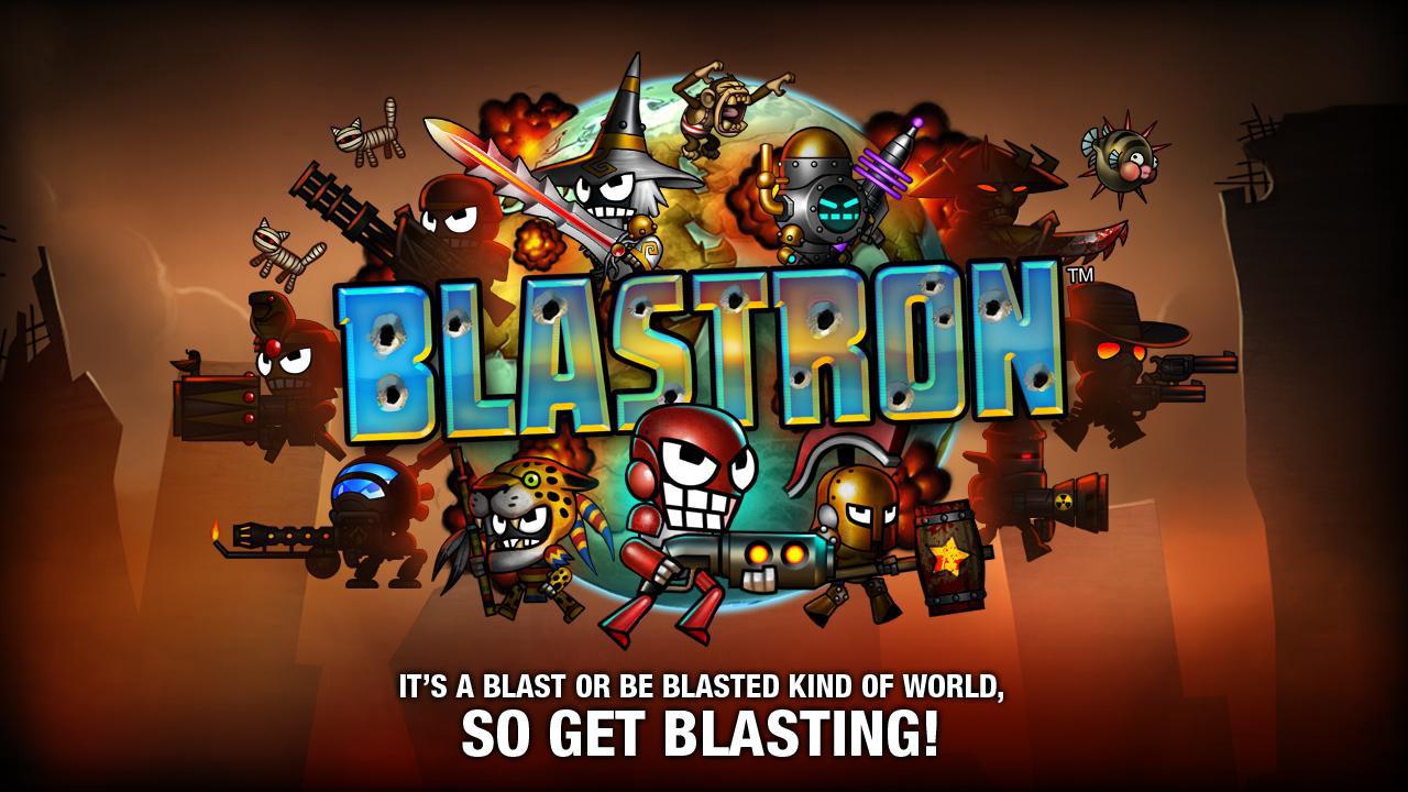 Blastron, quand les worms deviennent des robots rigolards