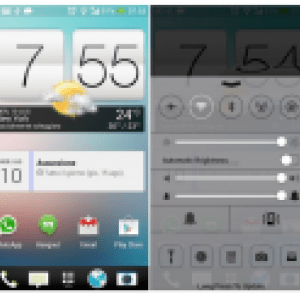 Installer le Control Center d'iOS 7 sur Android