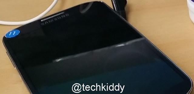 Samsung Galaxy Note III : une image volée et des caractéristiques