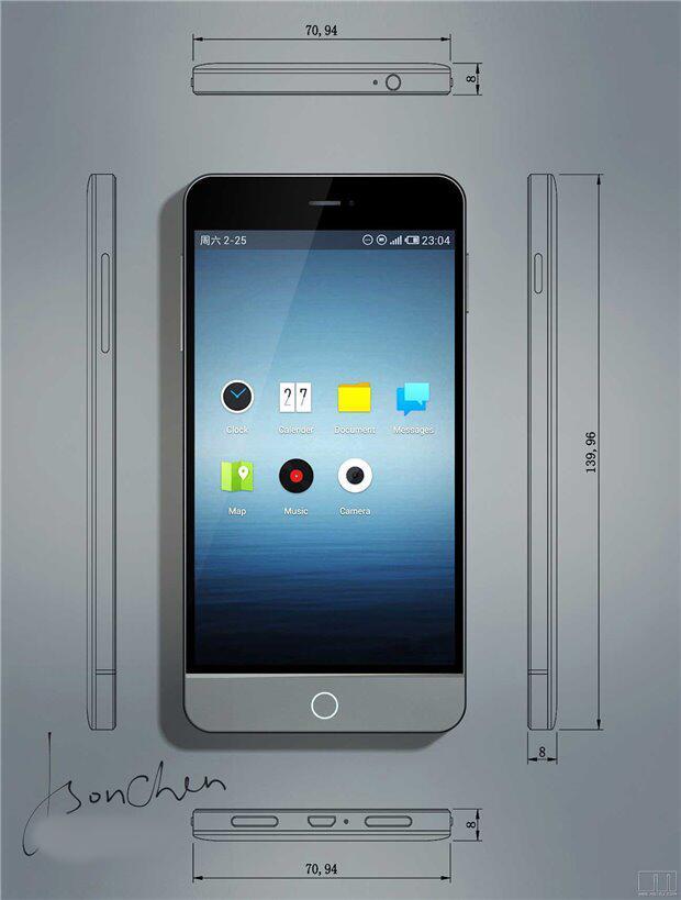 Meizu MX3 : des photos du design et des caractéristiques ?