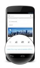 Google Maps : et un bouton consacré aux cartes offline, un !
