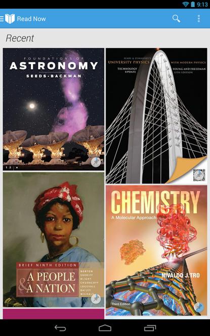 Google Play Livres : des manuels scolaires à louer pour les Américains