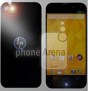 Une première image du nouveau smartphone HP ?