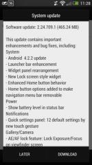 HTC One : Android 4.2.2 se déploie en OTA