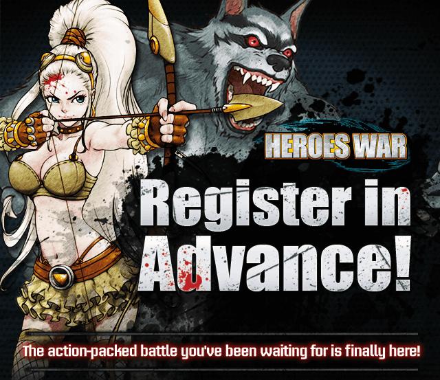 Dernier jour pour le pré-enregistrement au futur Heroes War
