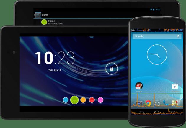Aperçu d'Android 4.3 : des sessions restreintes et du Bluetooth Smart au programme