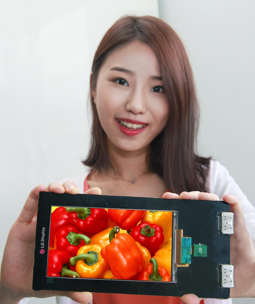 LG Display présente l'écran Quad HD AH-IPS LCD pour smartphone : 2560 x 1440 pixels