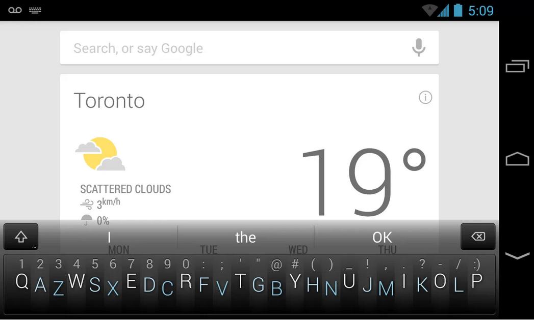Minuum Keyboard, le clavier virtuel sur une seule ligne arrive sur le Play Store