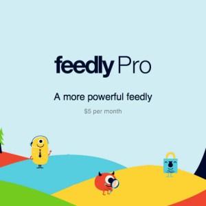 Feedly passe au payant dans une version «Pro»