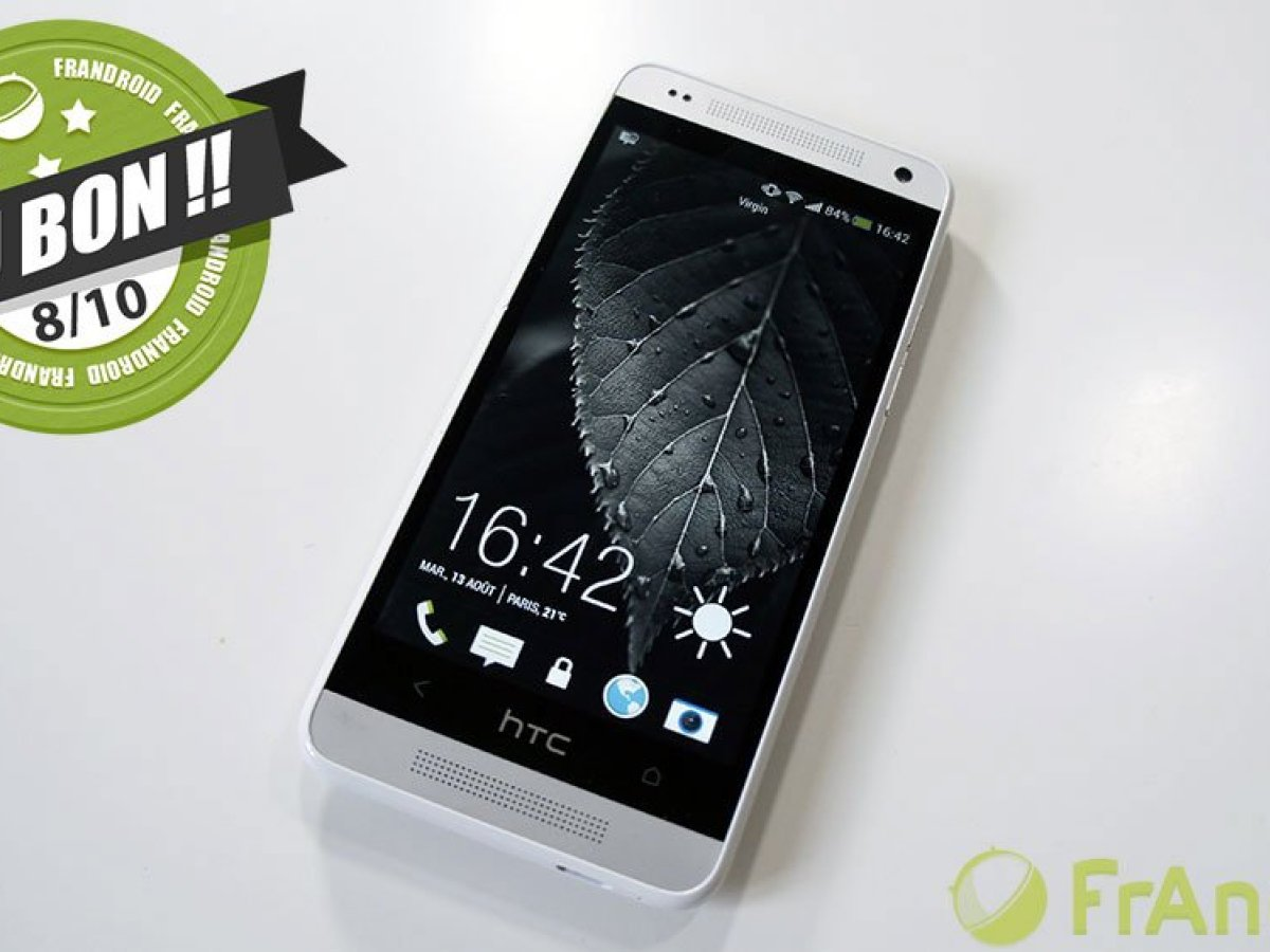 Test du HTC One Mini