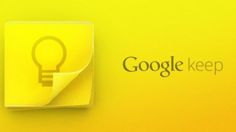 Google Keep s'offre une nouvelle mise à jour et introduit la géolocalisation