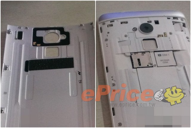HTC One Max : d'autres images du lecteur d'empreintes digitales