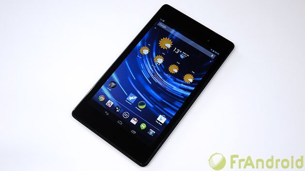 La Nexus 7 (2013) est officiellement disponible en France