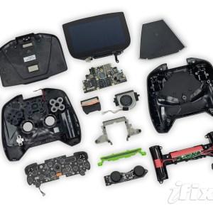 Aperçu de la Nvidia Shield entièrement démontée