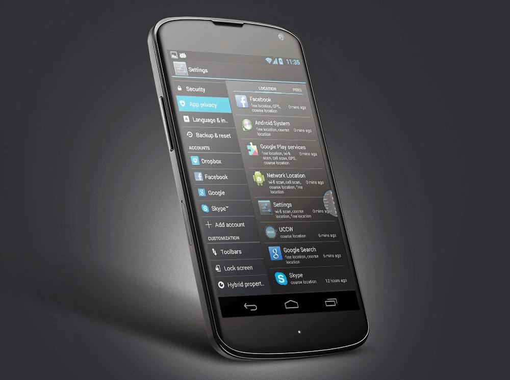 Paranoid Android 3.94, la mise à jour permet de gérer les permissions