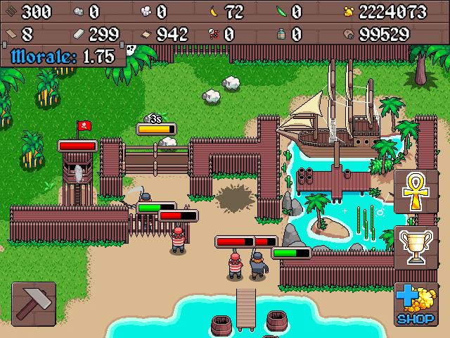 Devenez un pirate dans Rum Isle