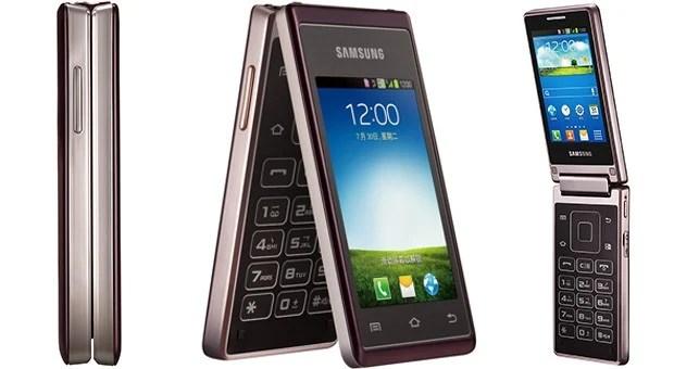 Samsung Hennessy : le smartphone à clapet vient d'être officialisé