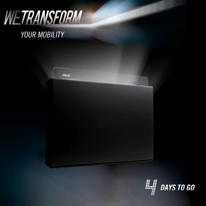 Asus «tease» (encore) la Transformer Pad Infinity