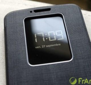 Prise en main : LG G2, retour sur la housse Quick Window