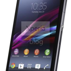 Sony Xperia Z1 : des photos officielles apparaissent en ligne