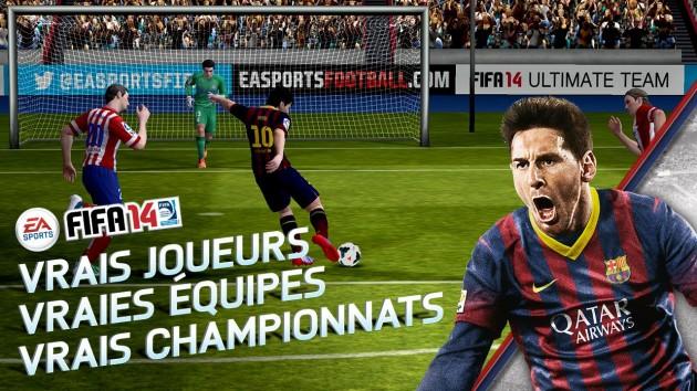 FIFA 14 est enfin disponible sur Android