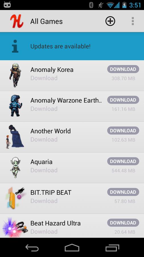 Humble Bundle (beta), l'application officielle débarque sur le Play Store