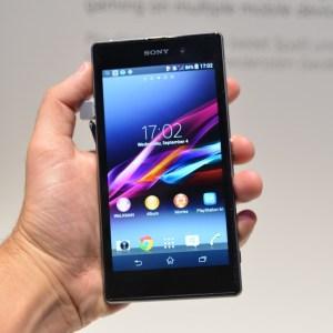 Prise en main du Sony Xperia Z1