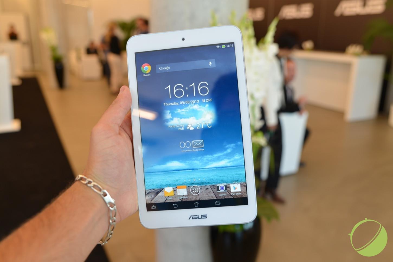 Prise en main de l'Asus FonePad 7, la tablette «téléphone»