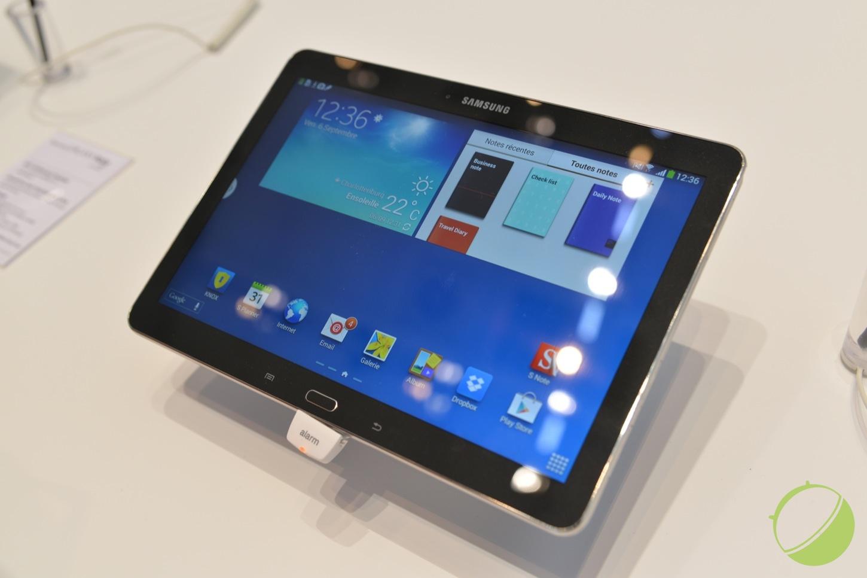 Prise en main de la Samsung Galaxy Note 10.1 (2014), une vraie cure de jouvence !