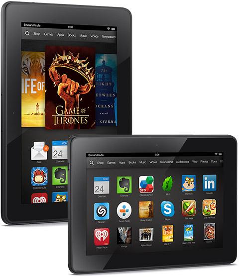 Les nouvelles Kindle Fire d'Amazon sont officielles : les Kindle Fire HD, HDX 7 et HDX 8.9… avec Snapdragon 800