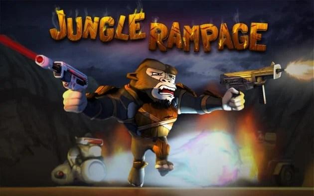 Jungle Rampage, des singes avec des lasers dans un Temple Run like