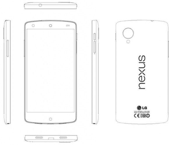 Fuite du manuel du Nexus 5 (LG D821)