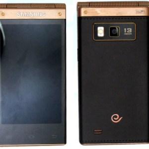 Samsung SM-W2014 : un nouveau smartphone à clapet sous S800 !
